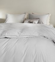 Beddinghouse dekbedovertrek Basic light grey