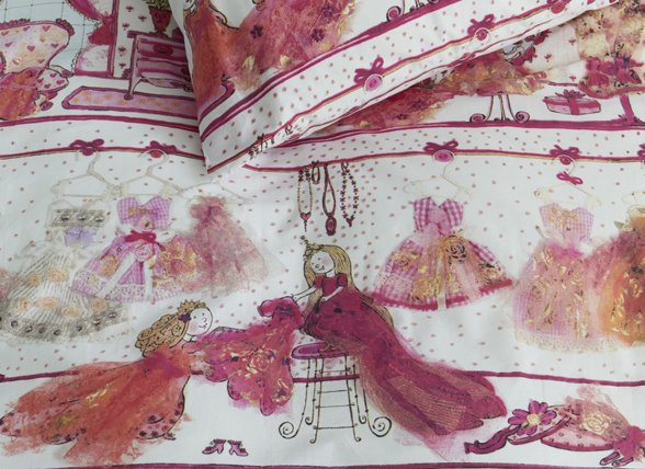 Beddinghouse dekbedovertrek Princess Wardrobe