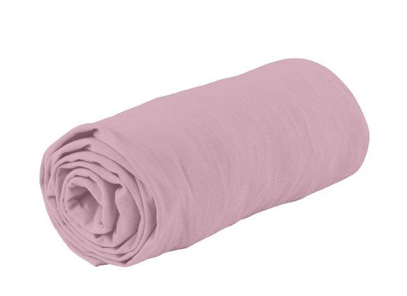Essenza Home Jersey hoeslaken, roze
