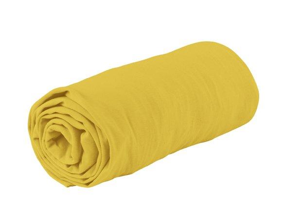 Essenza Home Jersey hoeslaken, geel