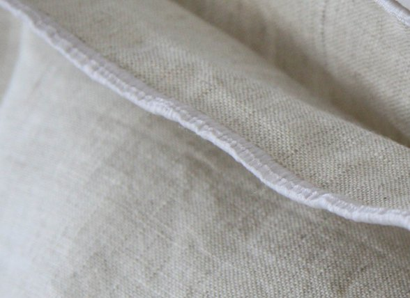 Flamant dekbedovertrek Natural grey linnen