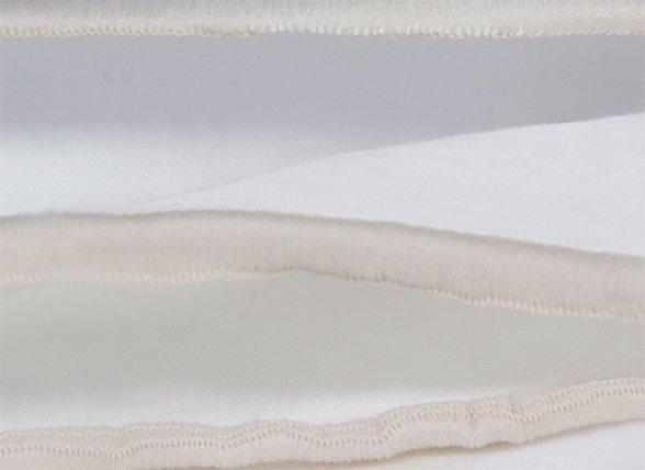 Flamant dekbedovertrek Triple ivory