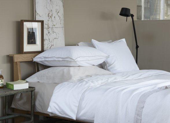 House in Style dekbedovertrek Rimini white/taupe