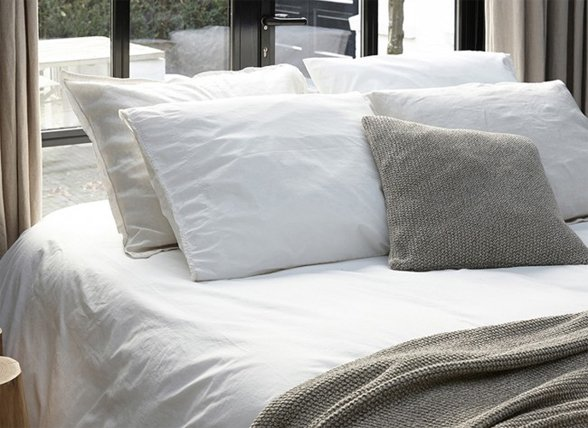 House in Style dekbedovertrek Trapani pearl grey