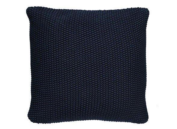 Marc O'Polo sierkussen Nordic Knit indigo blue 50x50