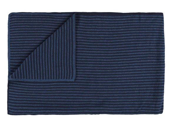 Marc O'Polo sprei Arvid navy/mid blue