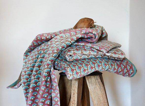 Pip Studio badgoed Blooming Tails khaki