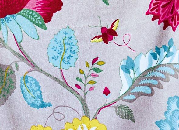 Pip Studio badjas Floral Fantasy khaki