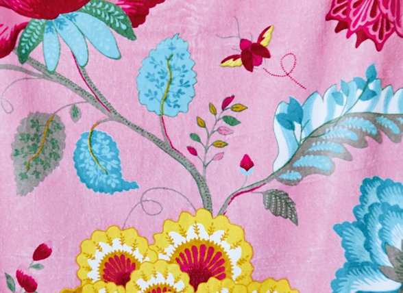 Pip Studio badjas Floral Fantasy roze