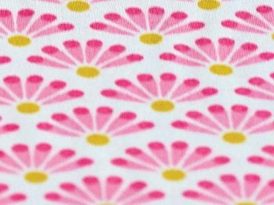 Pip Studio hoeslaken Blooming Tails roze