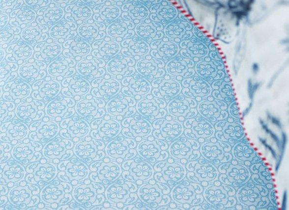 Pip Studio hoeslaken Lacy blue