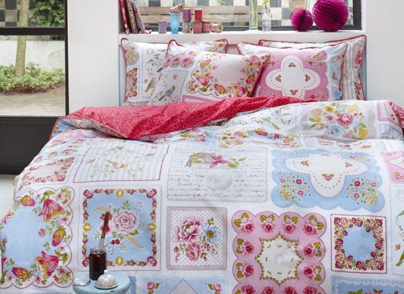 pip studio dekbedovertrek vintage hankies multi morpheus. Black Bedroom Furniture Sets. Home Design Ideas