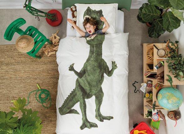 Snurk dekbedovertrek Dinosaurus Rex