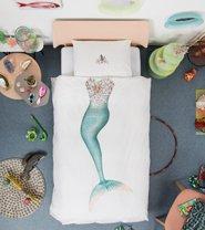 Snurk dekbedovertrek Mermaid