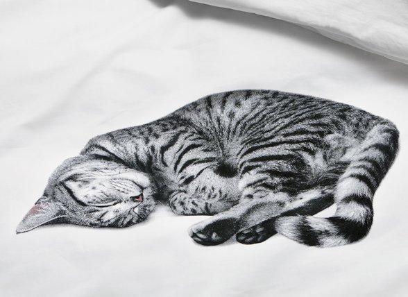 Snurk dekbedovertrek Ollie wit