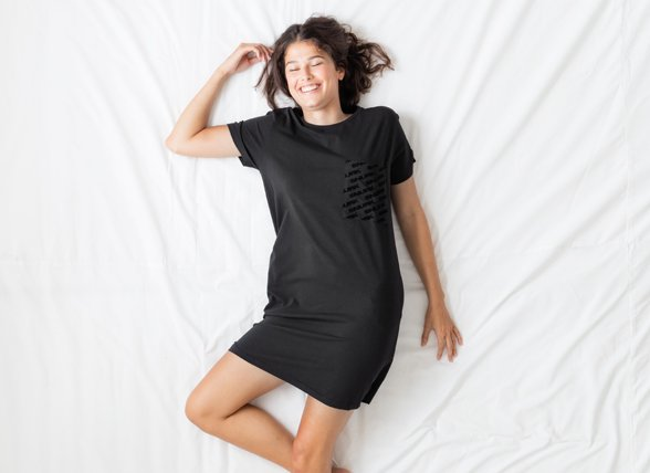 Snurk Homewear Black dress