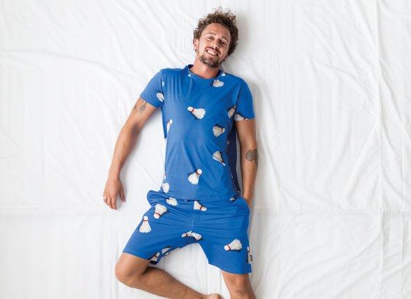 Snurk Homewear Shuttle t-shirt heren
