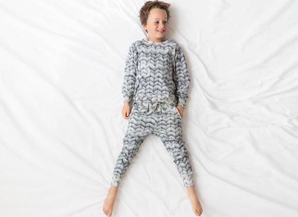 Snurk Homewear Twirre grey broek