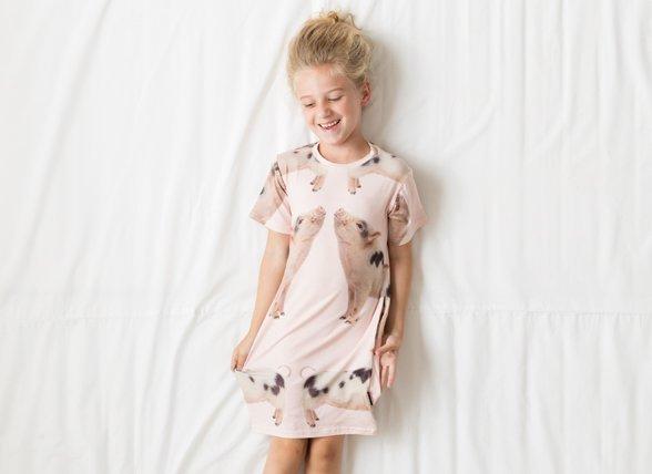 Snurk Homewear Piggies dress