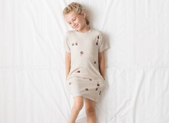 Snurk Homewear Slug Life dress