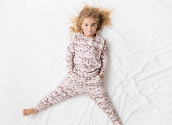 Snurk Homewear Twirre pink sweater