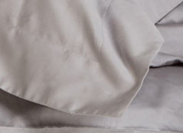 Yumeko dekbedovertrek satijn stone grey