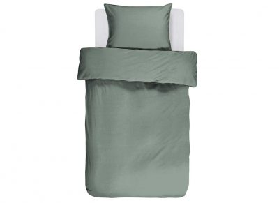 Essenza Home dekbedovertrek Guy sea green