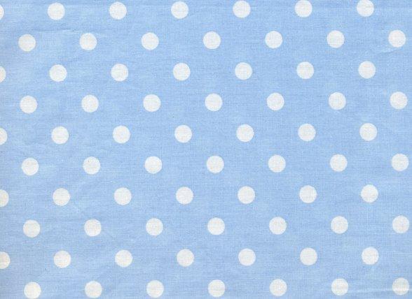 Pip Studio hoeslaken Dots blauw