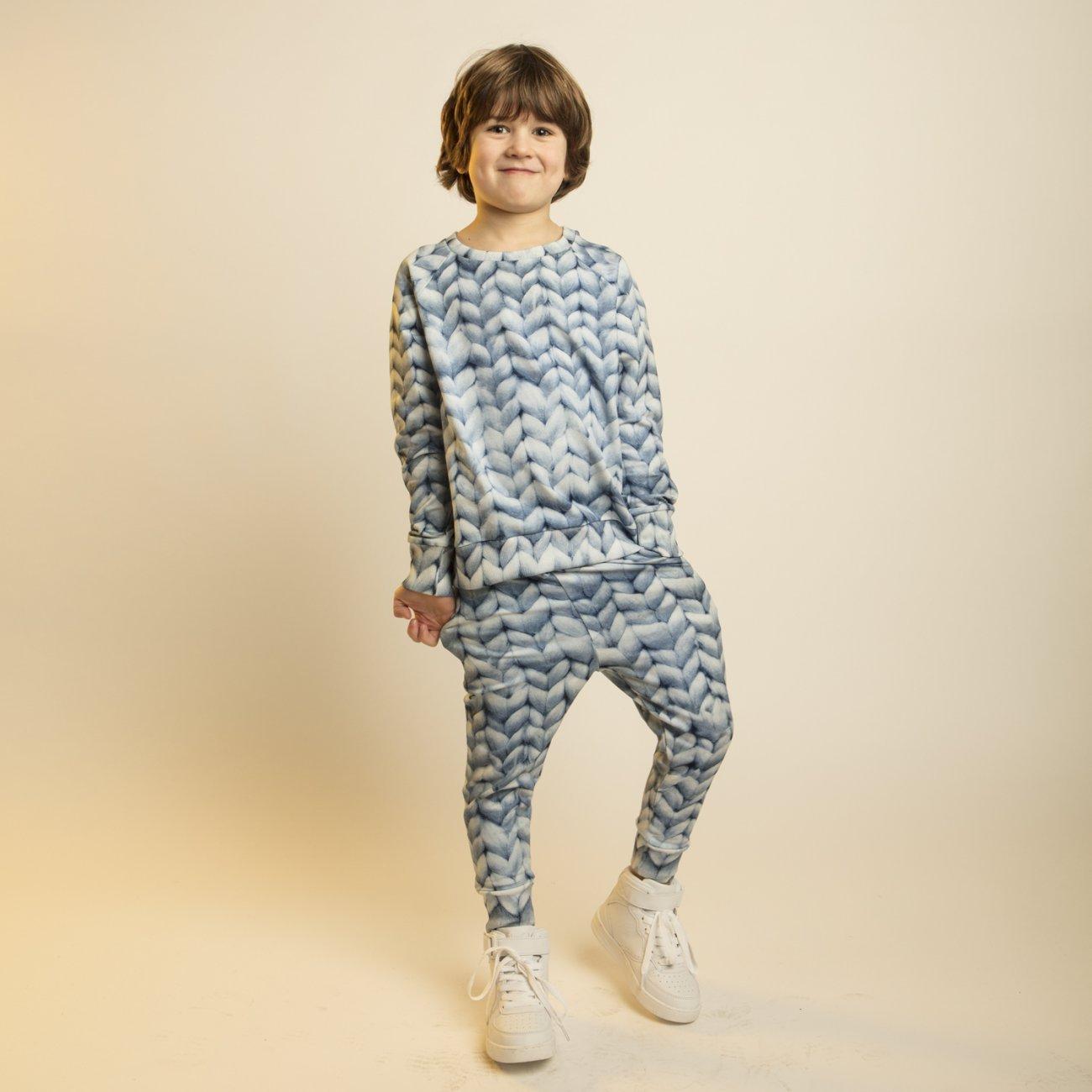 Snurk Homewear Twirre blauw broek kinderen