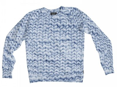 Snurk Homewear Twirre blauw sweater heren