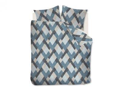 Beddinghouse dekbedovertrek flanel Montero blue