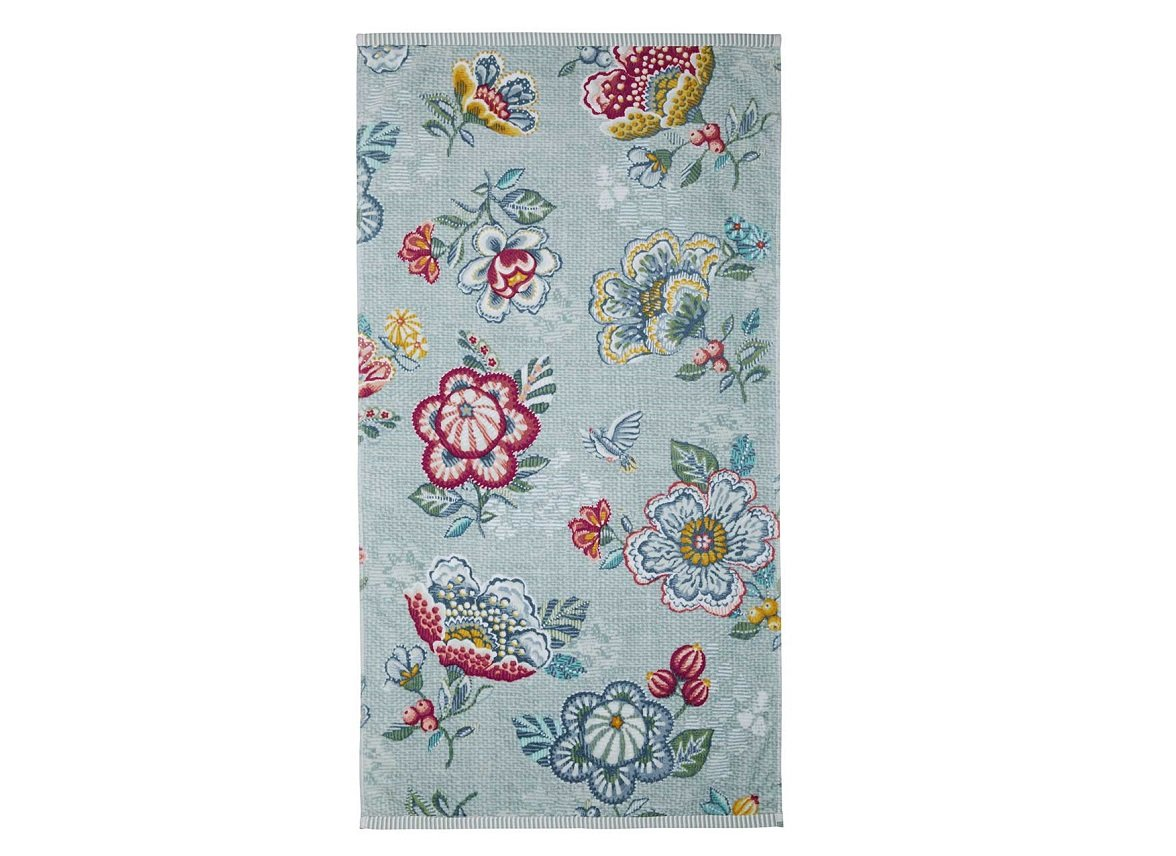 Pip Studio badgoed Berry Bird blauw