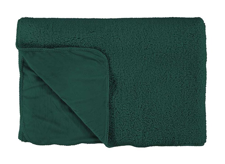 Essenza Home plaid Lammy pine green
