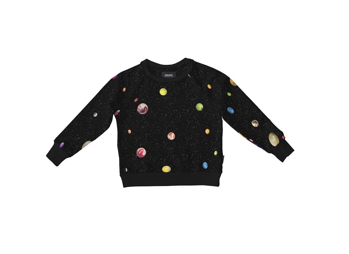 Snurk Homewear Marble Universe Sweater kinderen