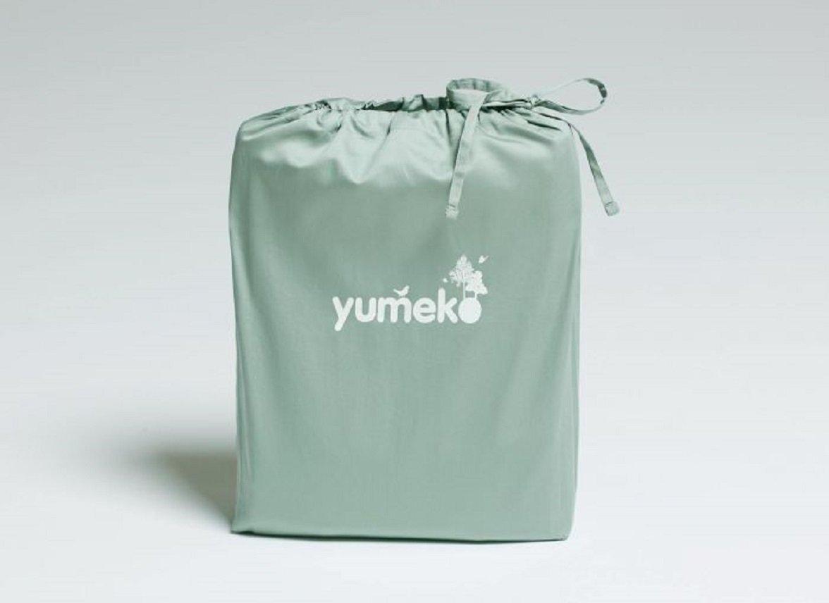 Yumeko dekbedovertrek satijn sea green