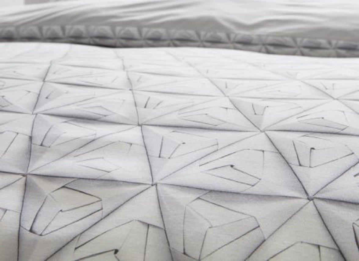 Snurk dekbedovertrek Monogami white