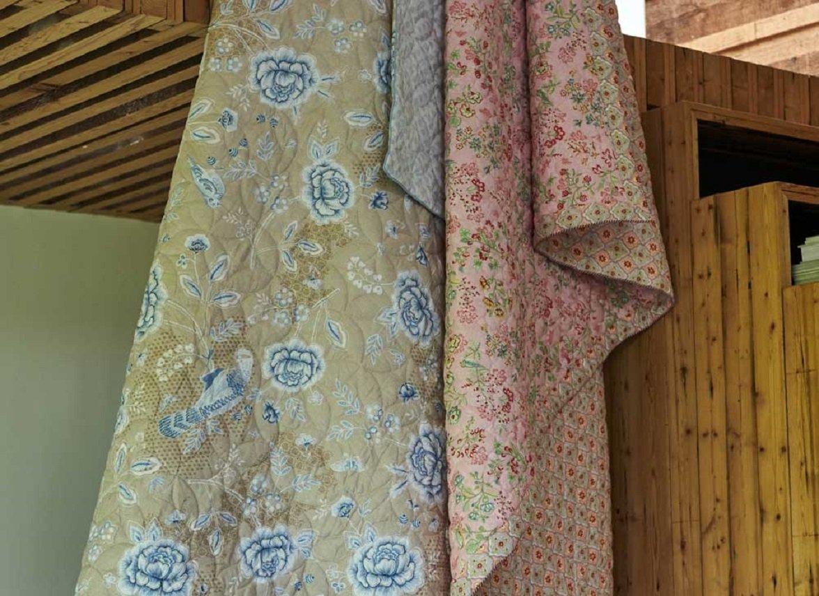 Pip Studio quilt Indian Roses khaki