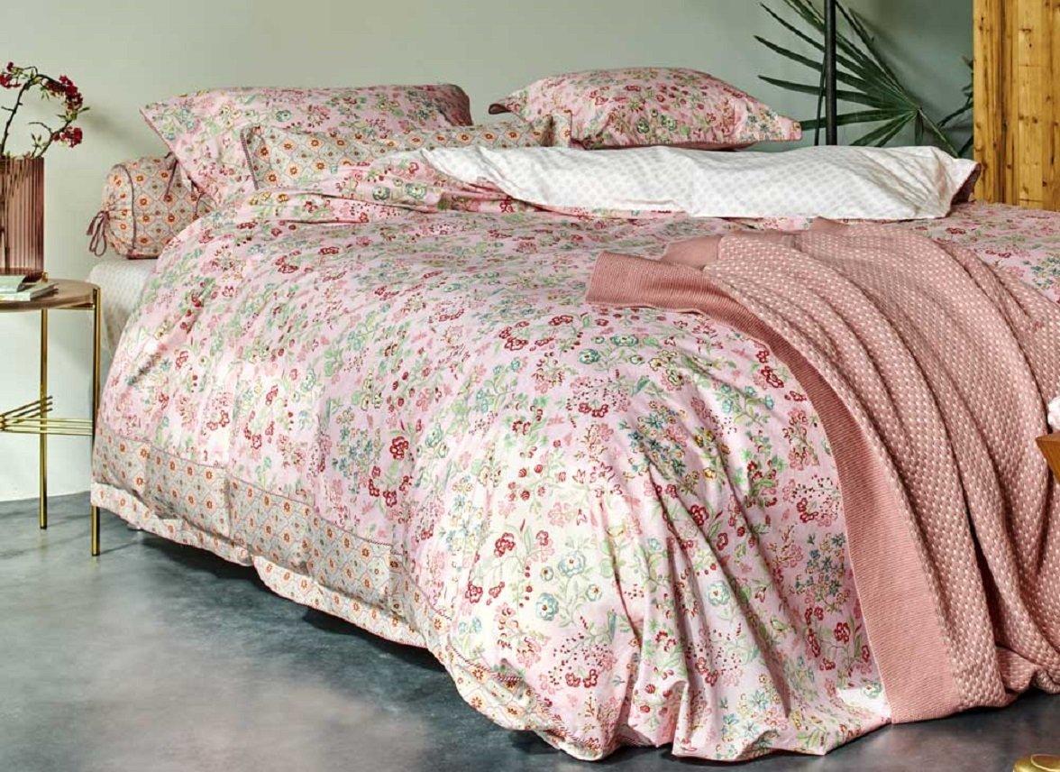 Pip Studio dekbedovertrek Jaipur Flower pink