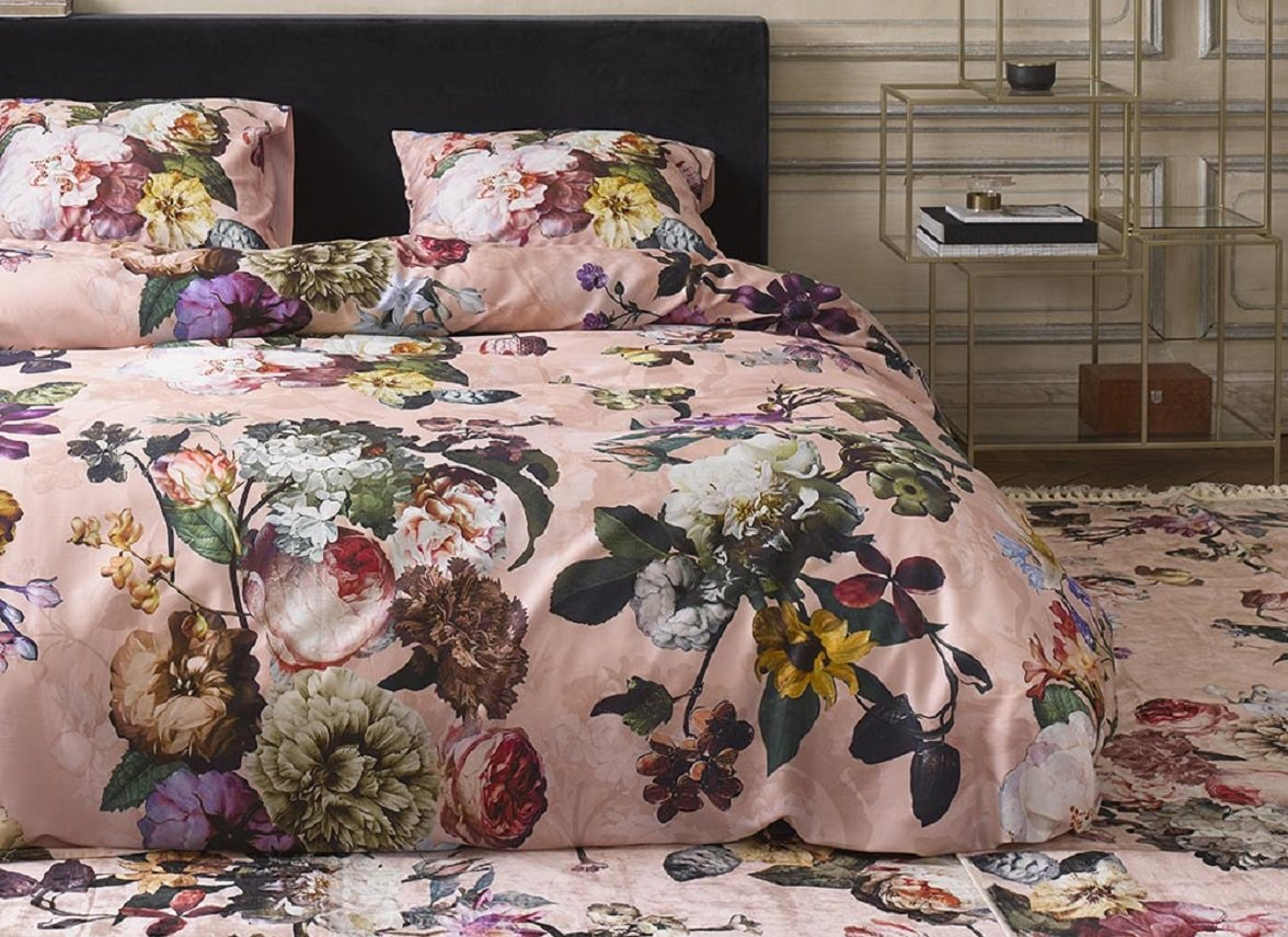 Essenza Home dekbedovertrek Fleur rose