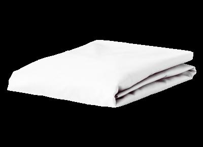 Morph Design perkal hoeslaken 200tc, wit