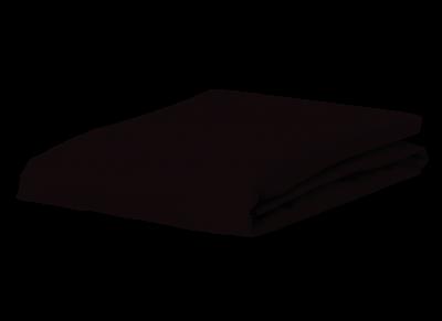 Morph Design perkal hoeslaken 200tc, zwart