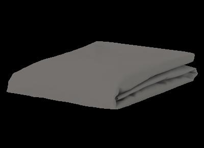 Morph Design perkal hoeslaken 200tc, olifantgrijs