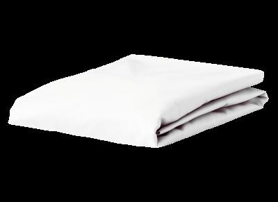 Morph Design perkal hoeslaken 400tc, wit