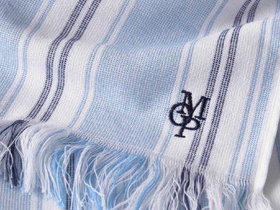 Marc O'Polo strandlaken Samso blue