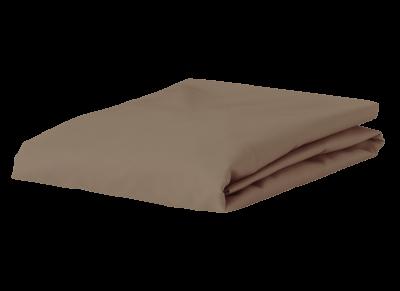 Morph Design satijn hoeslaken 300tc, taupe