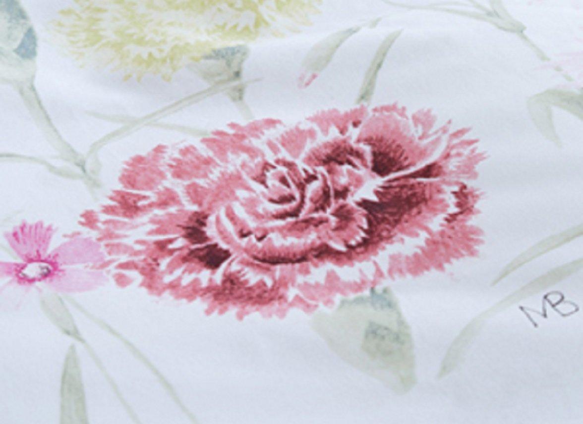 Marjolein Bastin dekbedovertrek Romantic Field pink