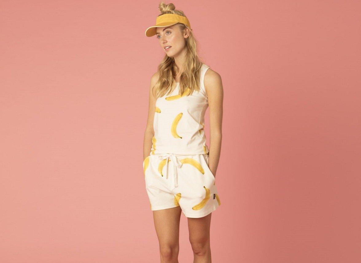Snurk Homewear Bananas tanktop dames