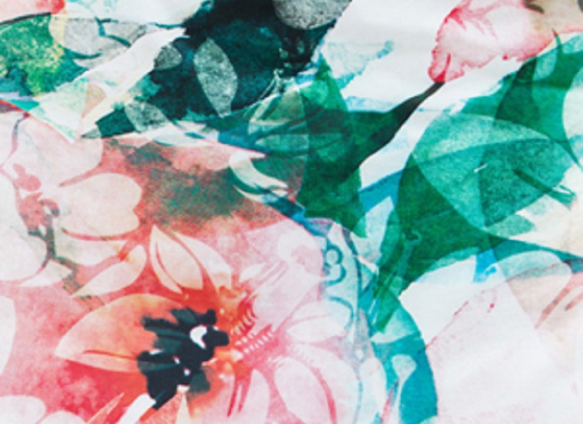 Beddinghouse dekbedovertrek Floral Storm multi
