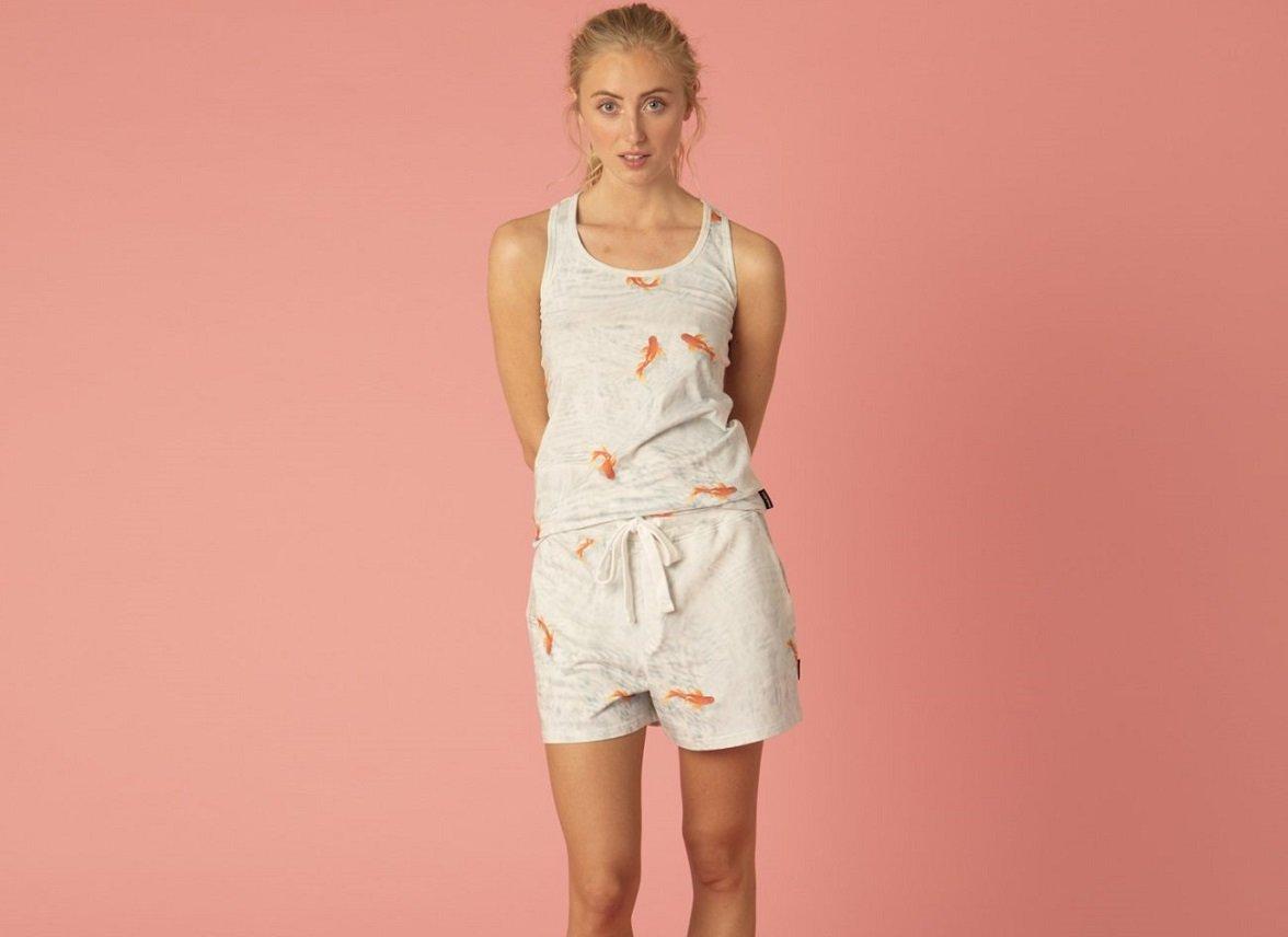 Snurk Homewear Goldfish tanktop dames