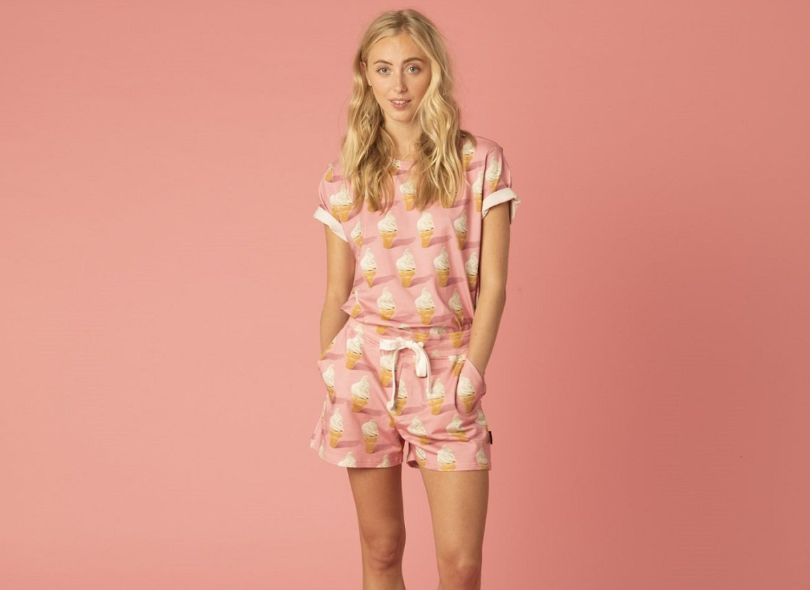 Snurk Homewear Icecream T-shirt Dames